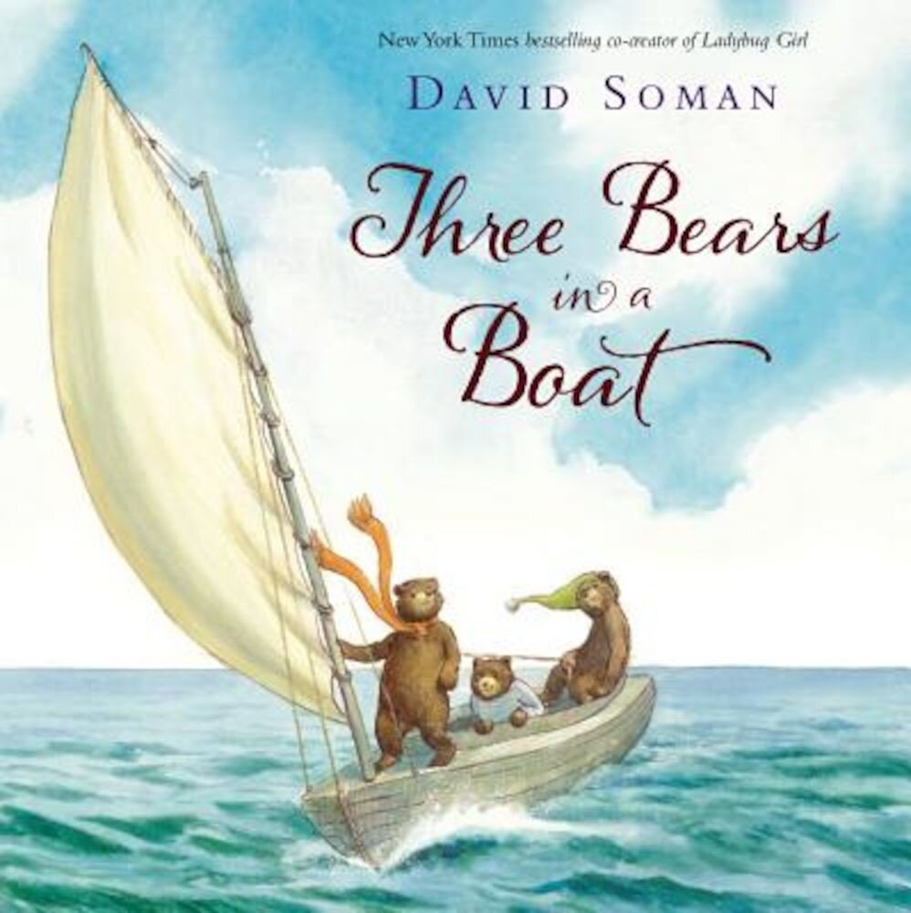 Three Bears in a Boat, Hardcover