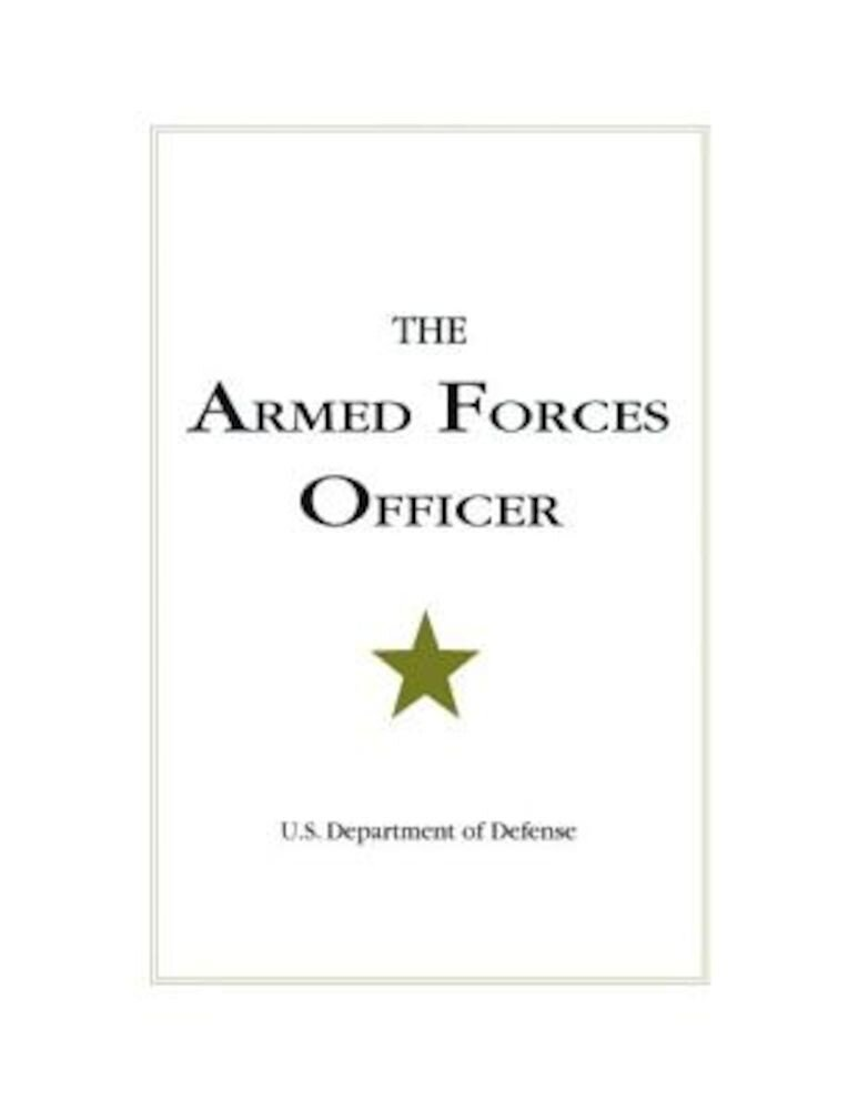 The Armed Forces Officer, Paperback