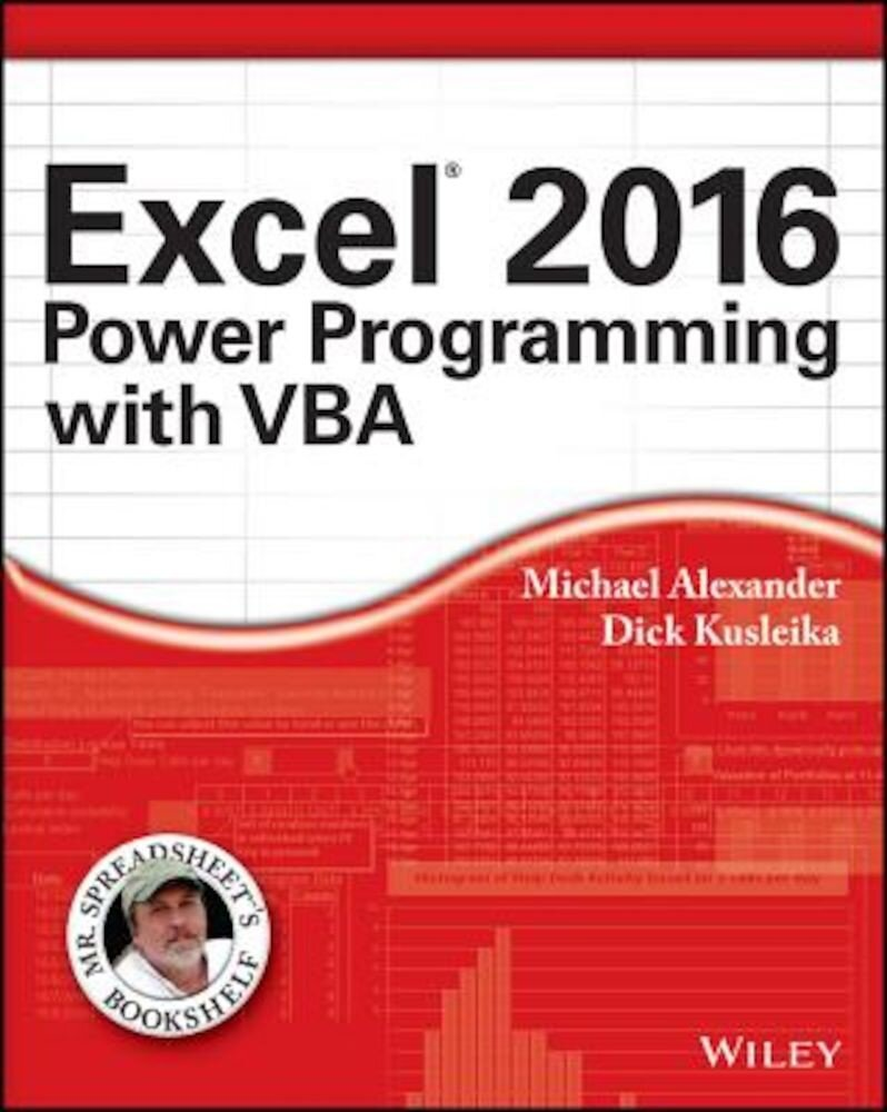 Excel 2016 Power Programming with VBA, Paperback