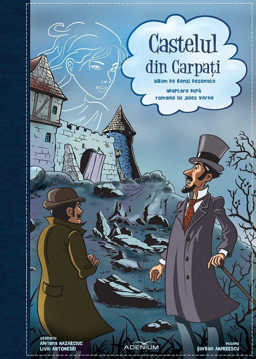 Castelul din Carpati. Album de benzi desenate (eBook)