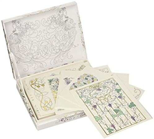 Art Nouveau: 12 Greeting Cards Cards with Envelopes