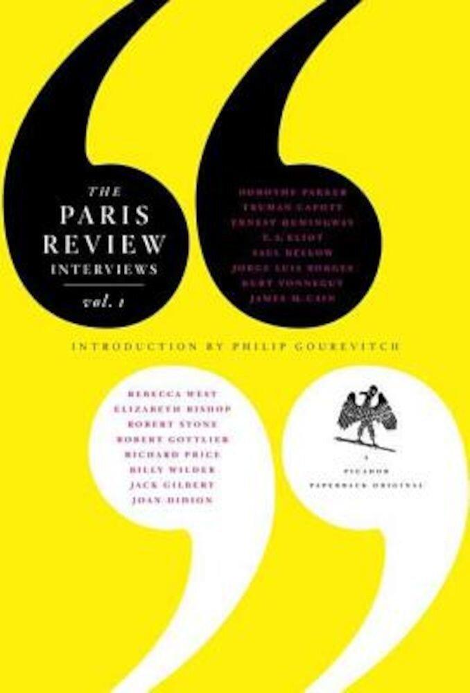 The Paris Review Interview: Volume 1, Paperback