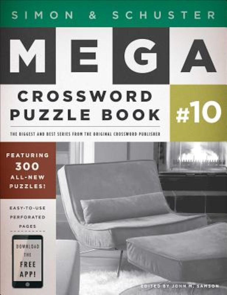 Simon & Schuster Mega Crossword Puzzle Book #10, Paperback
