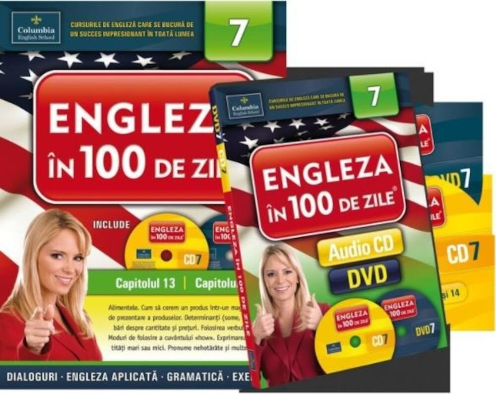 Engleza in 100 de zile. Vol. 7 (capitolul 13 si 14)