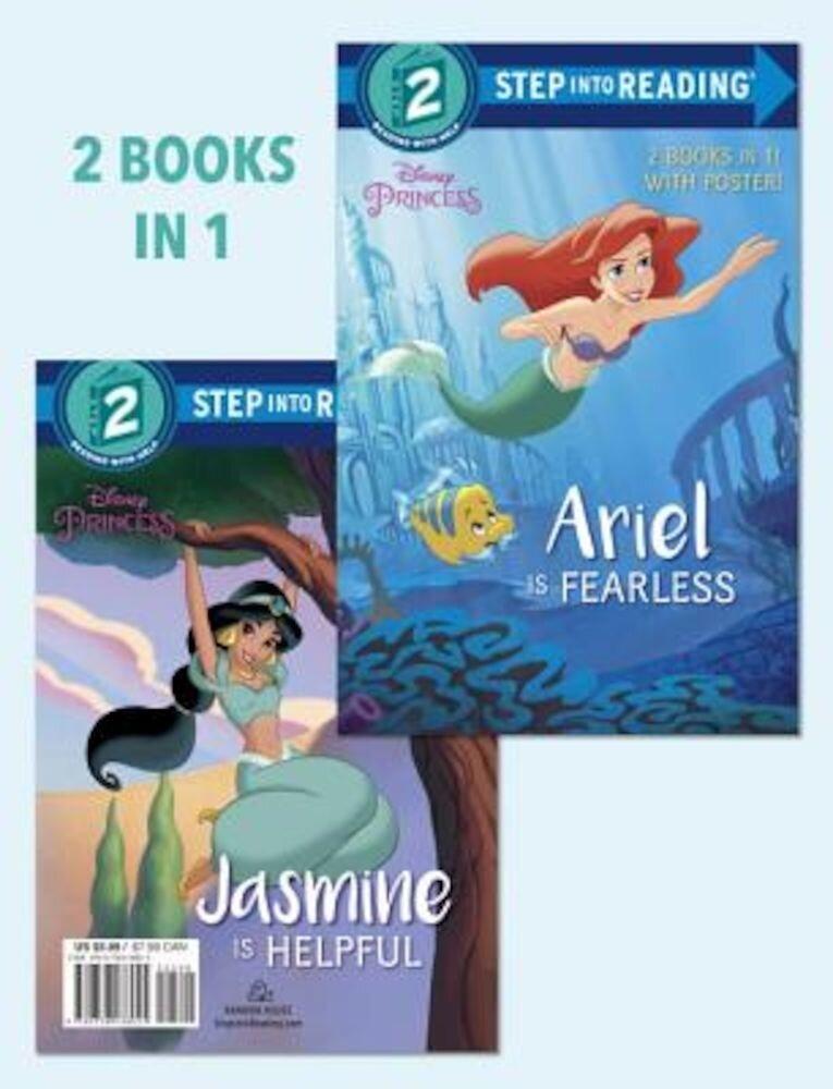 Ariel Is Fearless/Jasmine Is Helpful (Disney Princess), Paperback