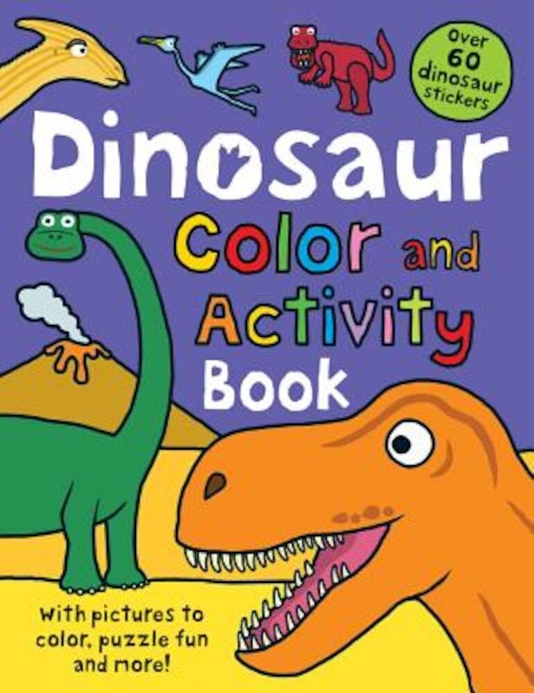 Dinosaur Color and Activity Book, Paperback
