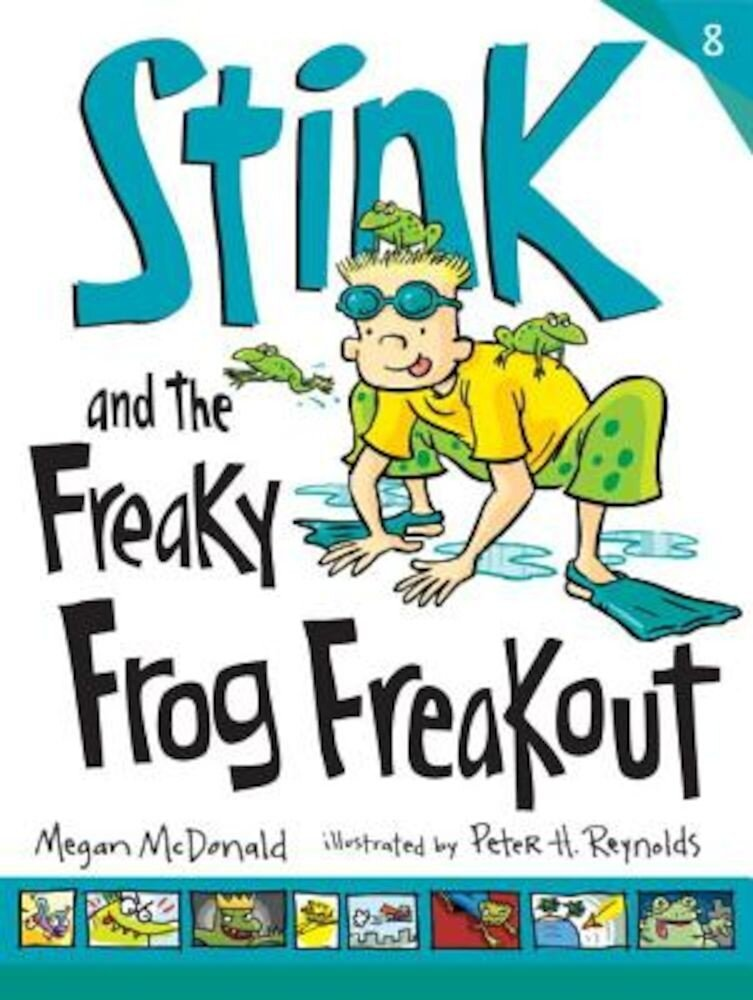Stink and the Freaky Frog Freakout, Paperback