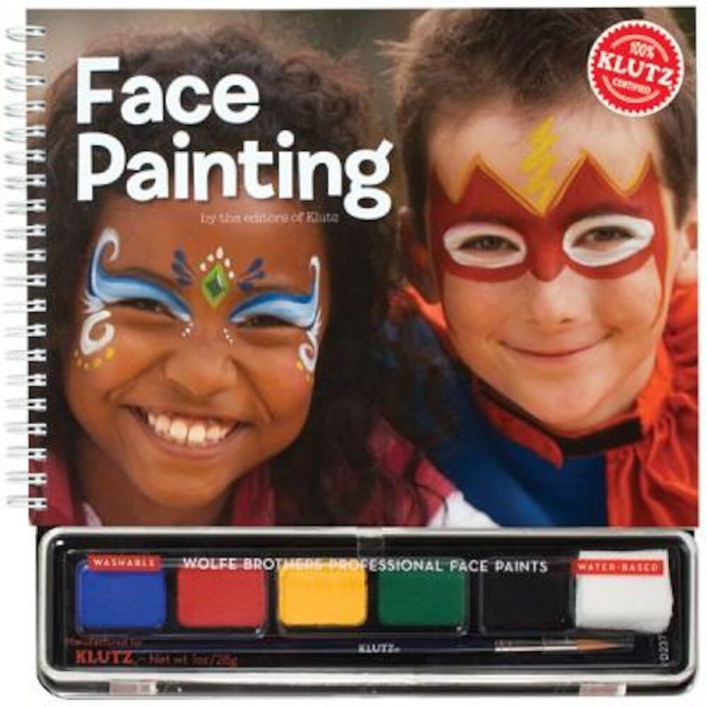Face Painting [With Water-Based Paints], Paperback