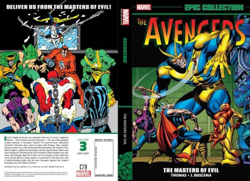 Avengers Epic Collection: Masters of Evil, Paperback