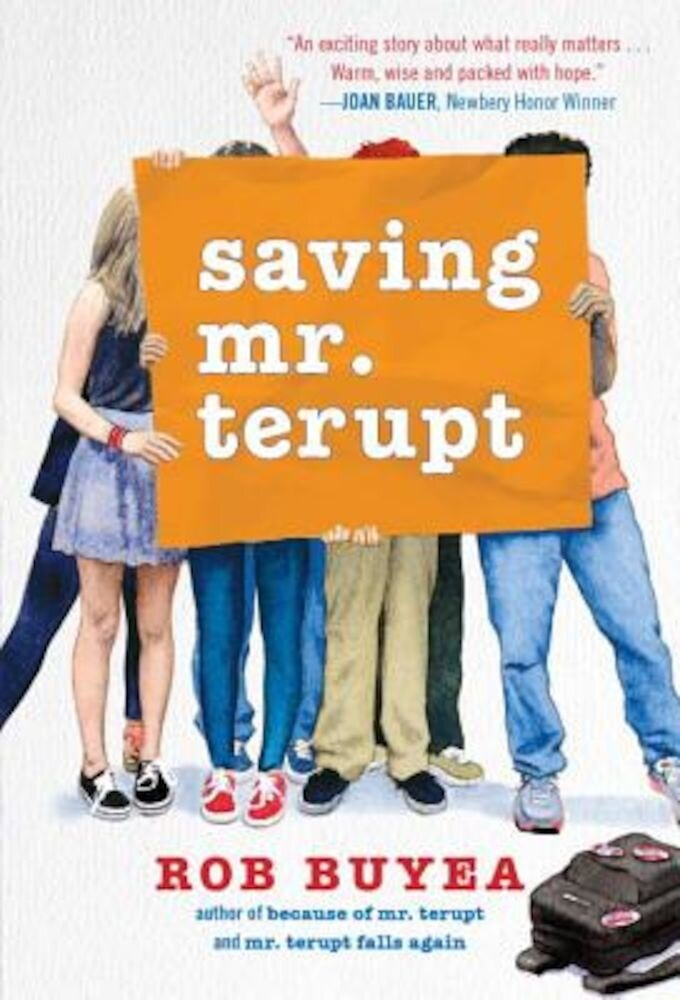 Saving Mr. Terupt, Paperback