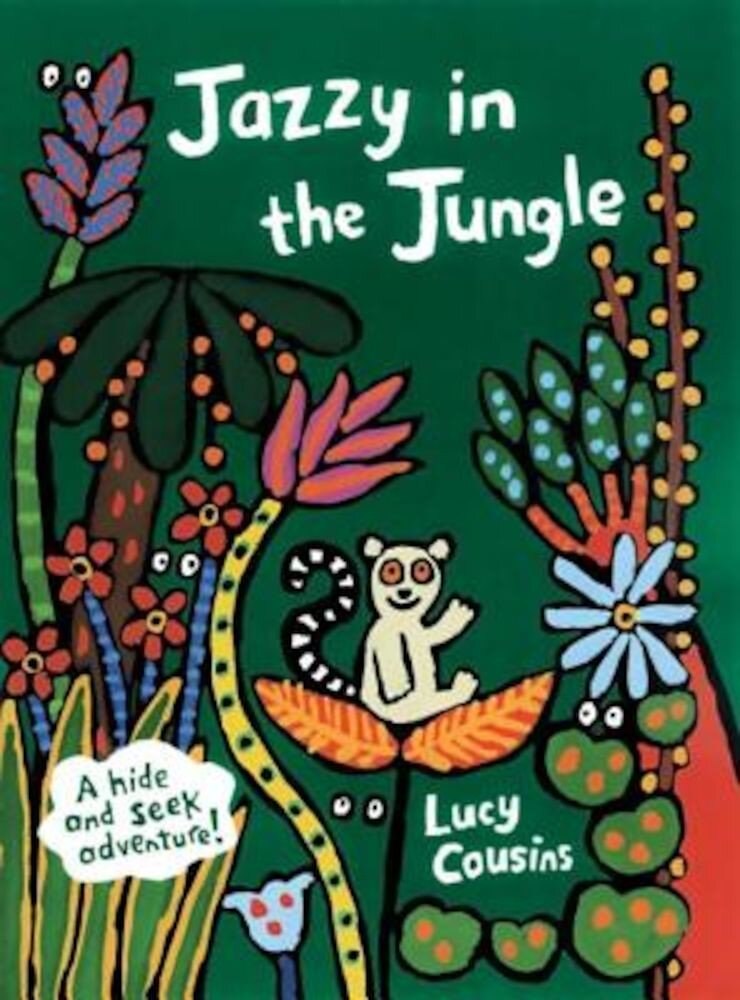Jazzy in the Jungle, Hardcover