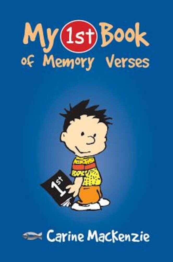 My First Book of Memory Verses, Paperback