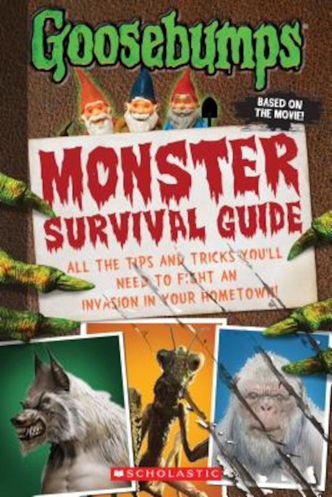 Goosebumps the Movie: Monster Survival Guide, Paperback