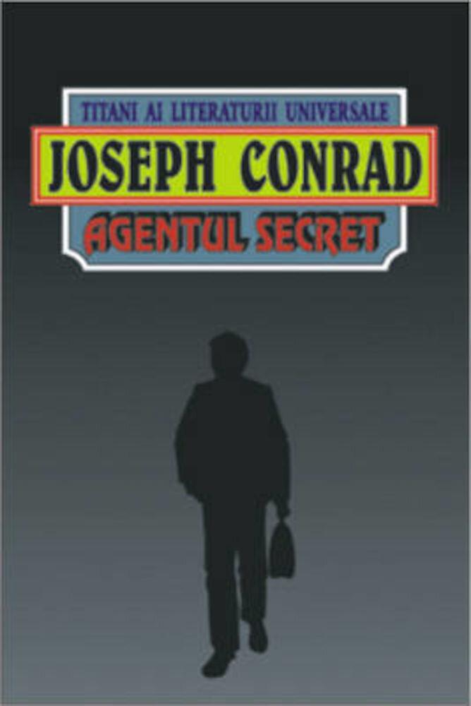 Coperta Carte Agentul secret