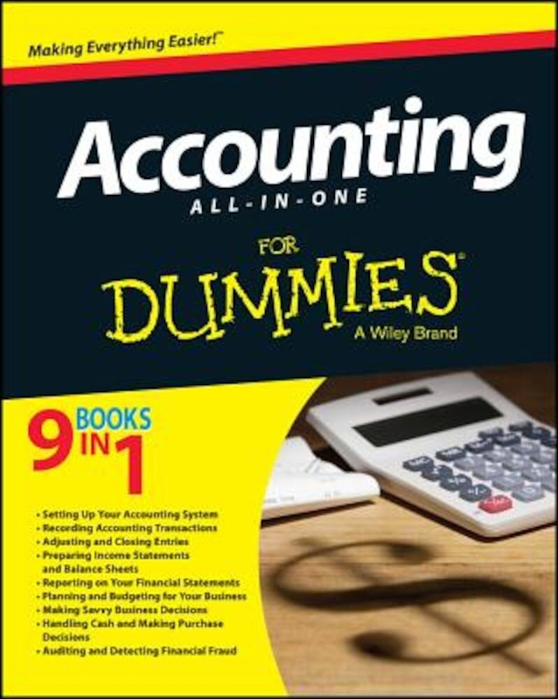 Accounting All-In-One for Dummies, Paperback