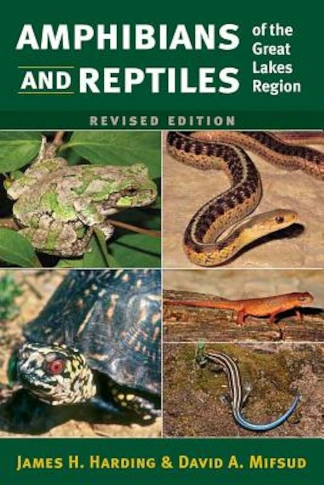 Amphibians and Reptiles of the Great Lakes Region, Revised Ed., Paperback