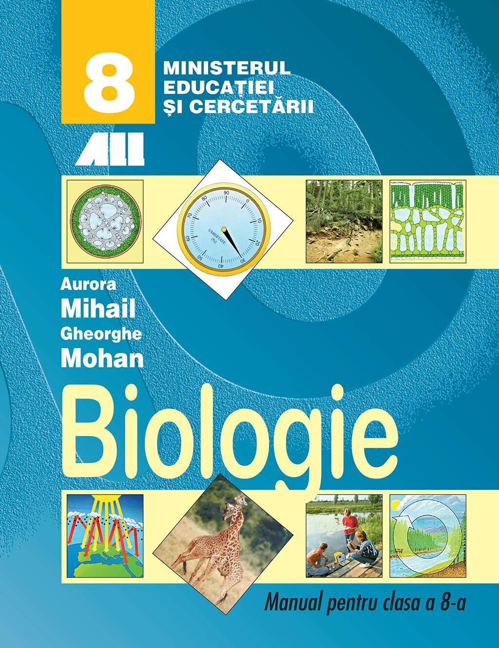 Biologie. Manual pentru clasa a 8-a (eBook)