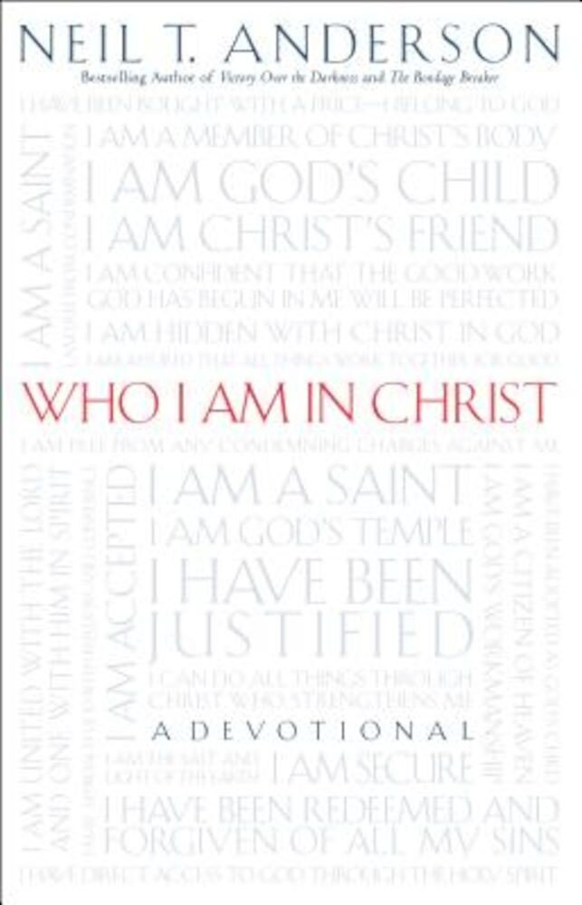Who I Am in Christ, Paperback