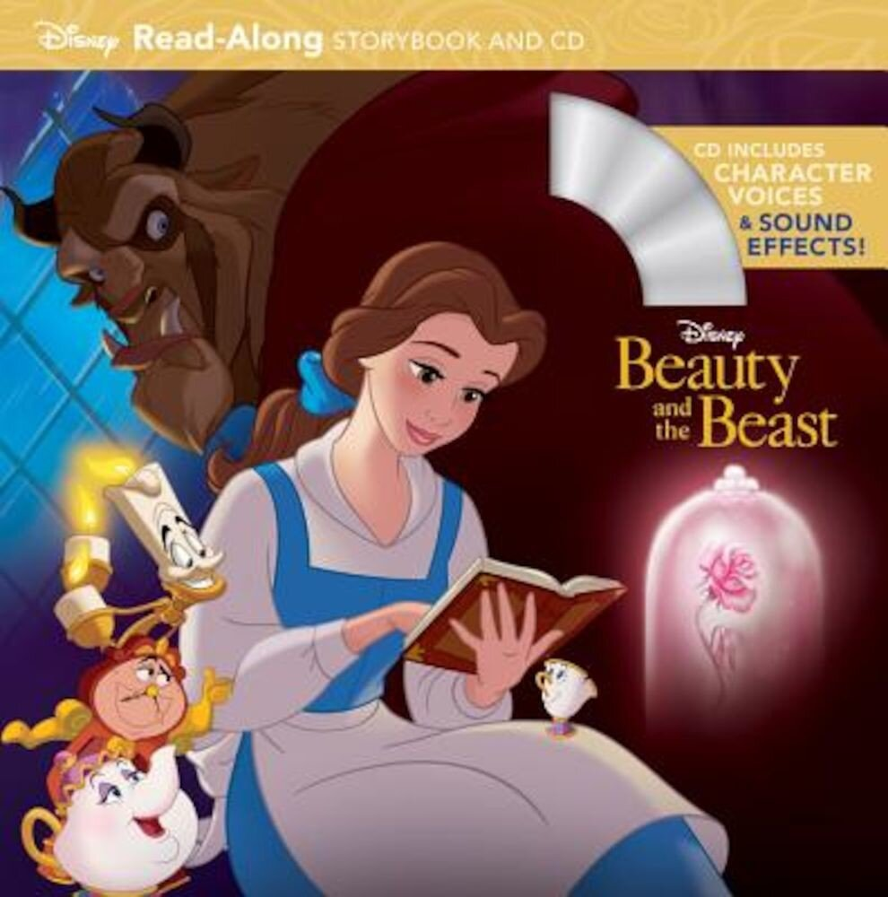 Beauty and the Beast Read-Along Storybook and CD, Paperback