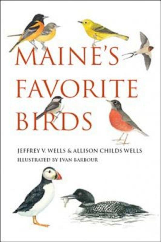Maine's Favorite Birds, Paperback