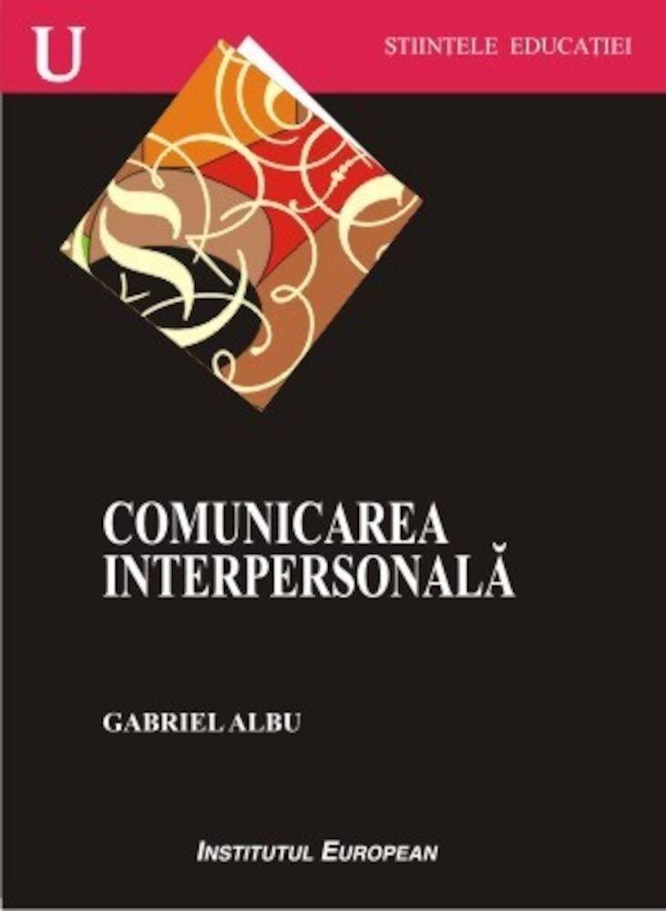 Coperta Carte Comunicarea interpersonala
