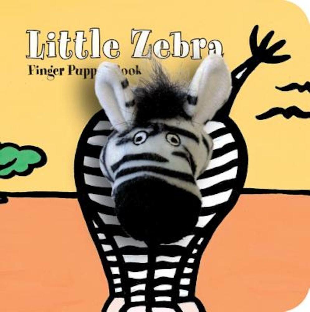 Little Zebra: Finger Puppet Book, Hardcover