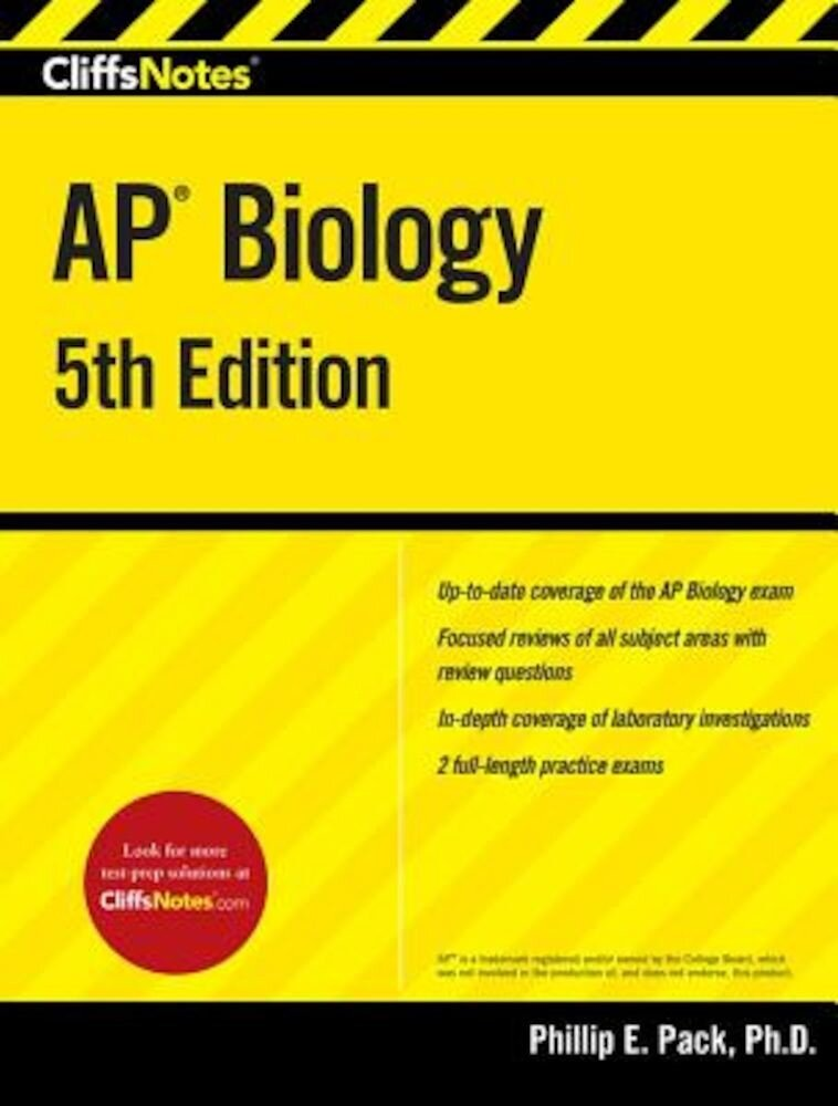 Cliffsnotes AP Biology, 5th Edition, Paperback
