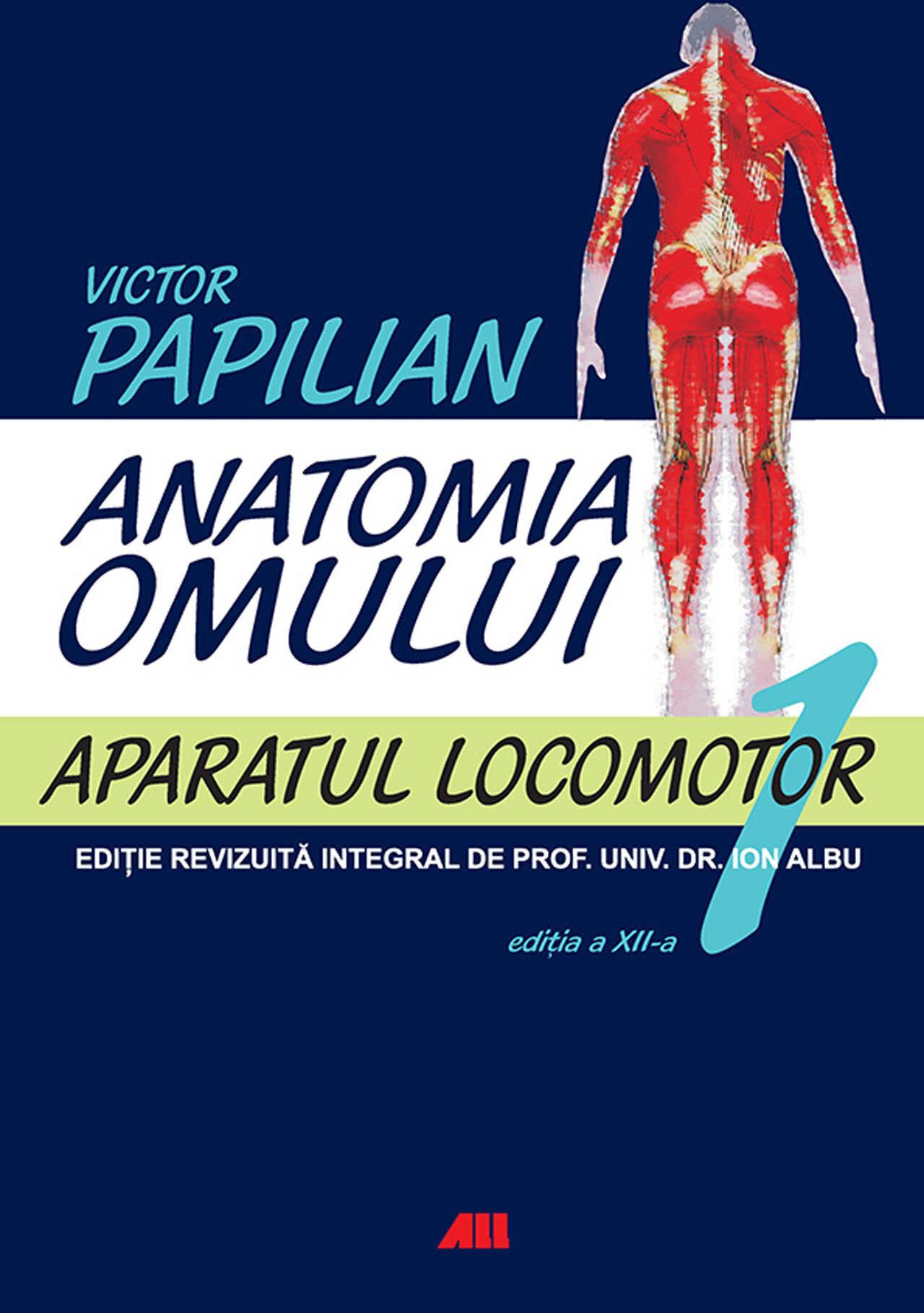 Anatomia omului. Vol. 1 - Aparatul locomotor (eBook)
