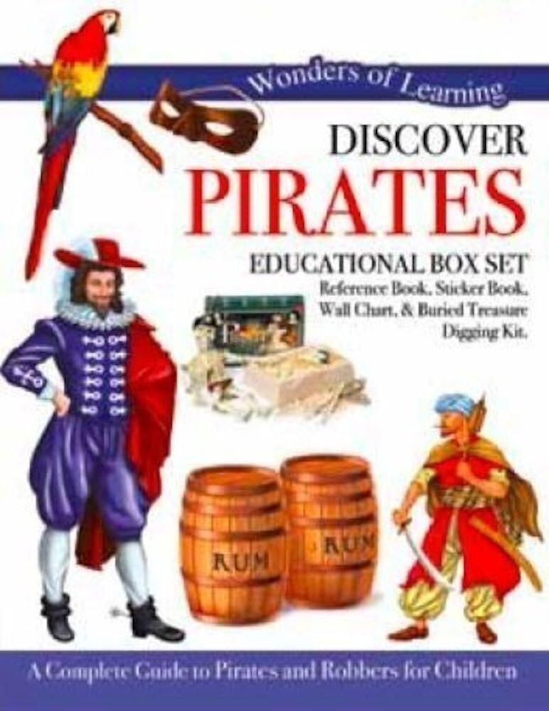 Discover Pirates - Learning Educational Box Sets