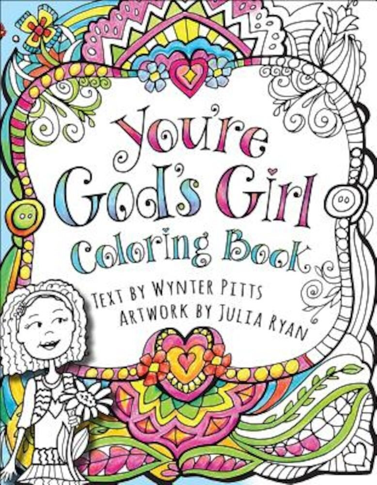 You're God's Girl! Coloring Book, Paperback