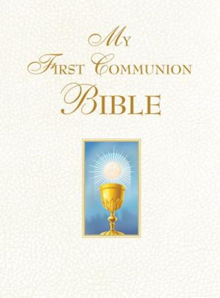 My First Communion Bible (White), Hardcover