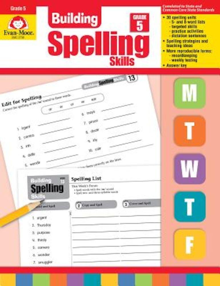 Building Spelling Skills Grade 5, Paperback