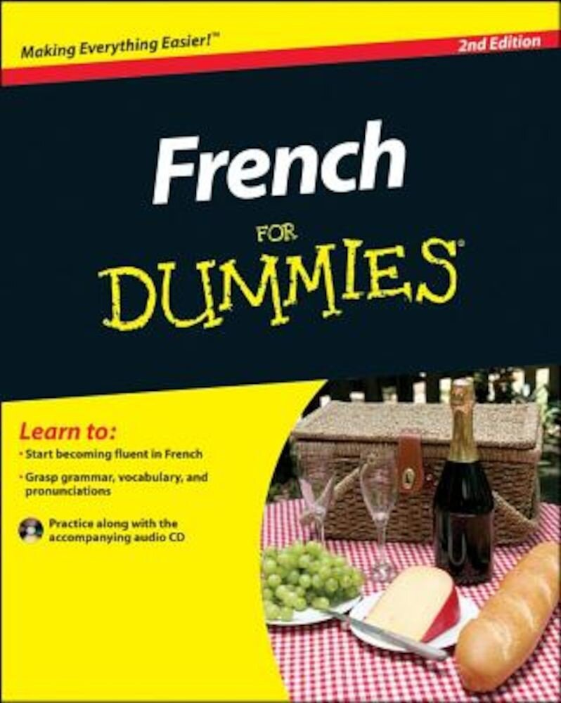 French for Dummies [With CDROM], Paperback