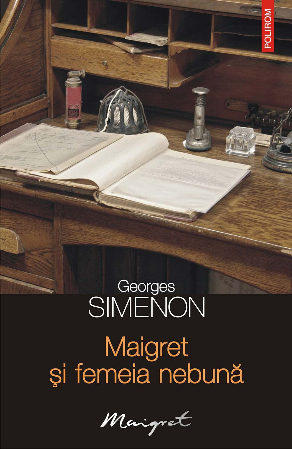 Maigret si femeia nebuna PDF (Download eBook)