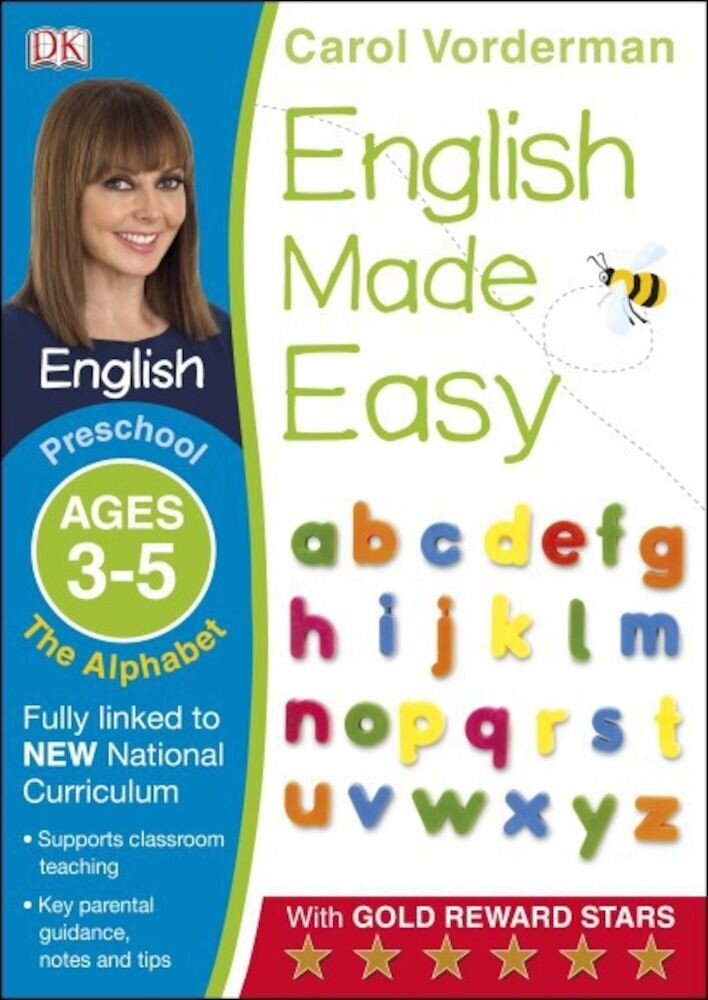 English Made Easy The Alphabet Preschool Ages 3-5