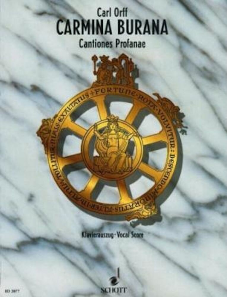Carmina Burana: Cantiones Profanae, Paperback