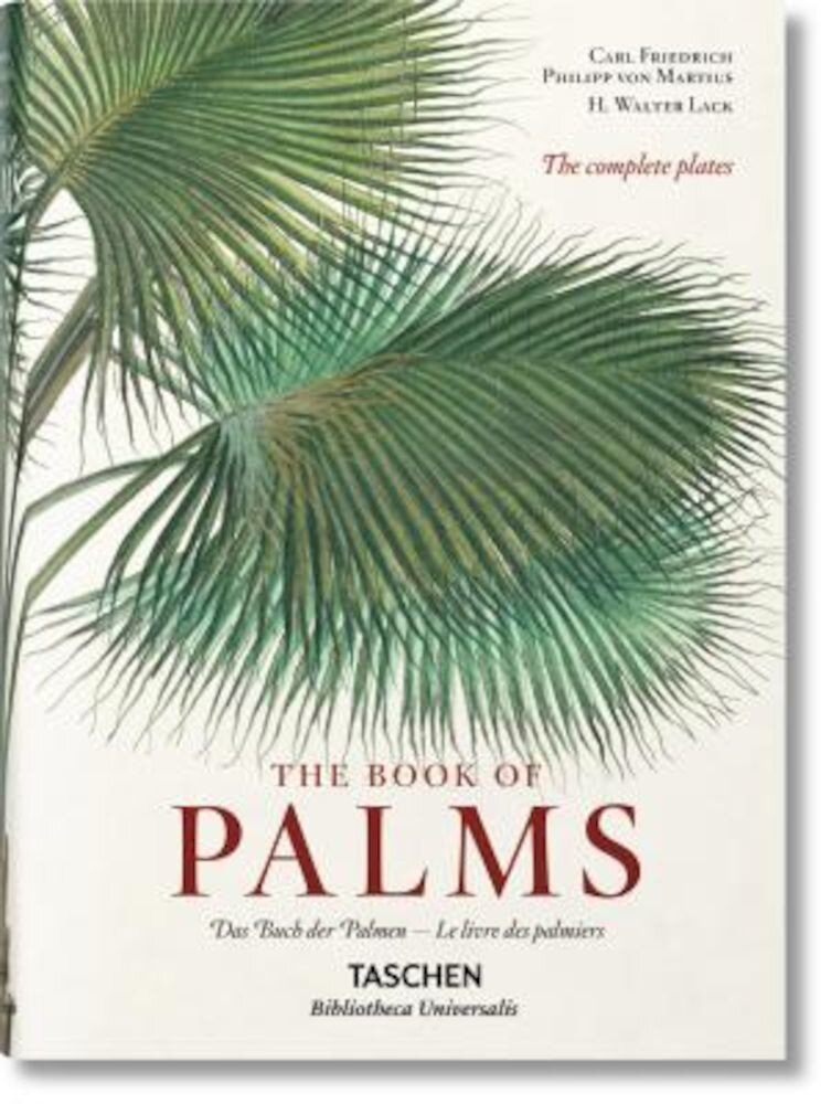 Martius: The Book of Palms, Hardcover