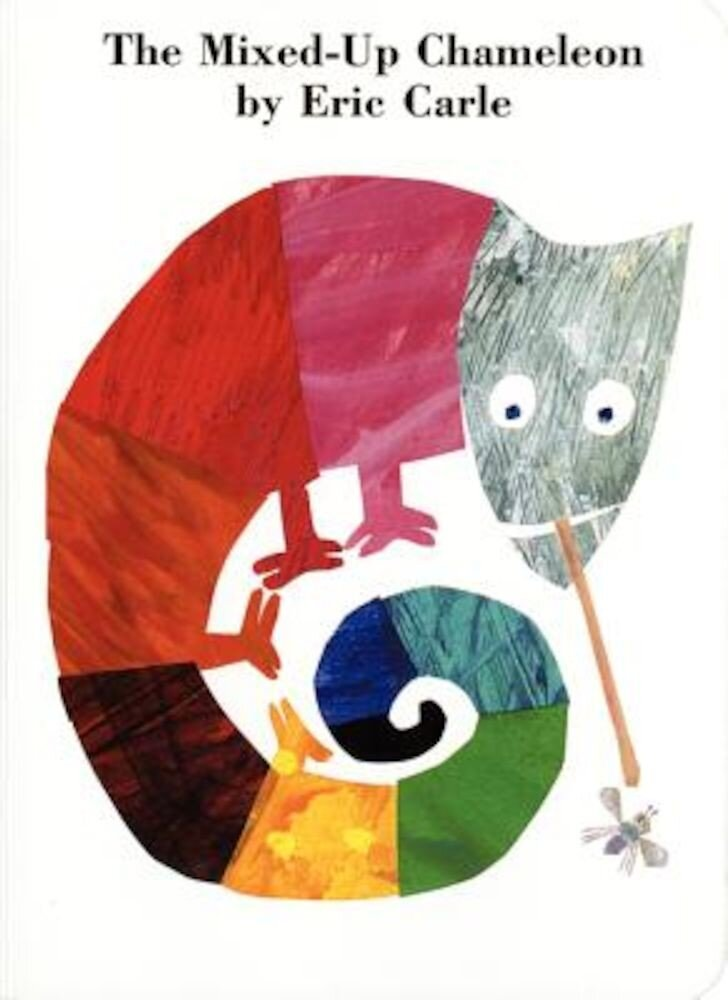 The Mixed-Up Chameleon Board Book, Hardcover