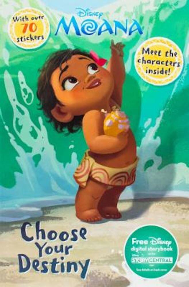 Disney Moana Choose Your Destiny: Meet the Characters Inside!, Paperback