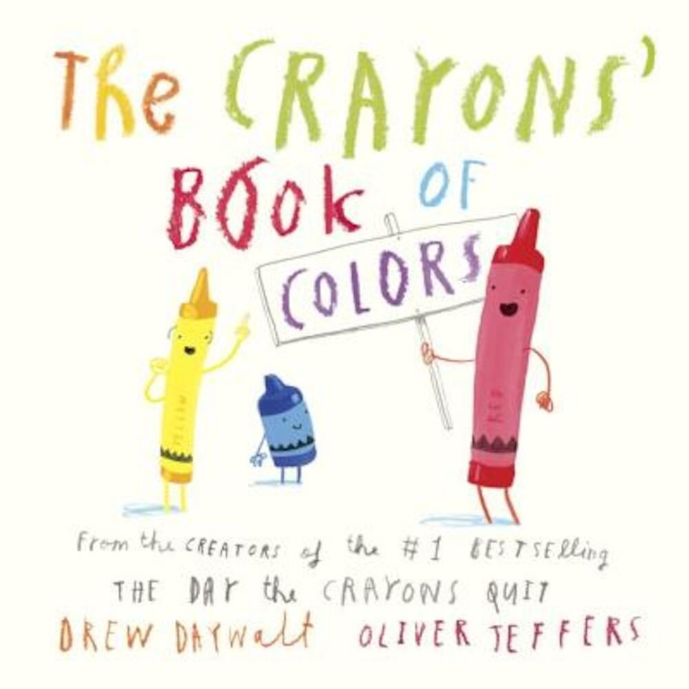 The Crayons' Book of Colors, Hardcover
