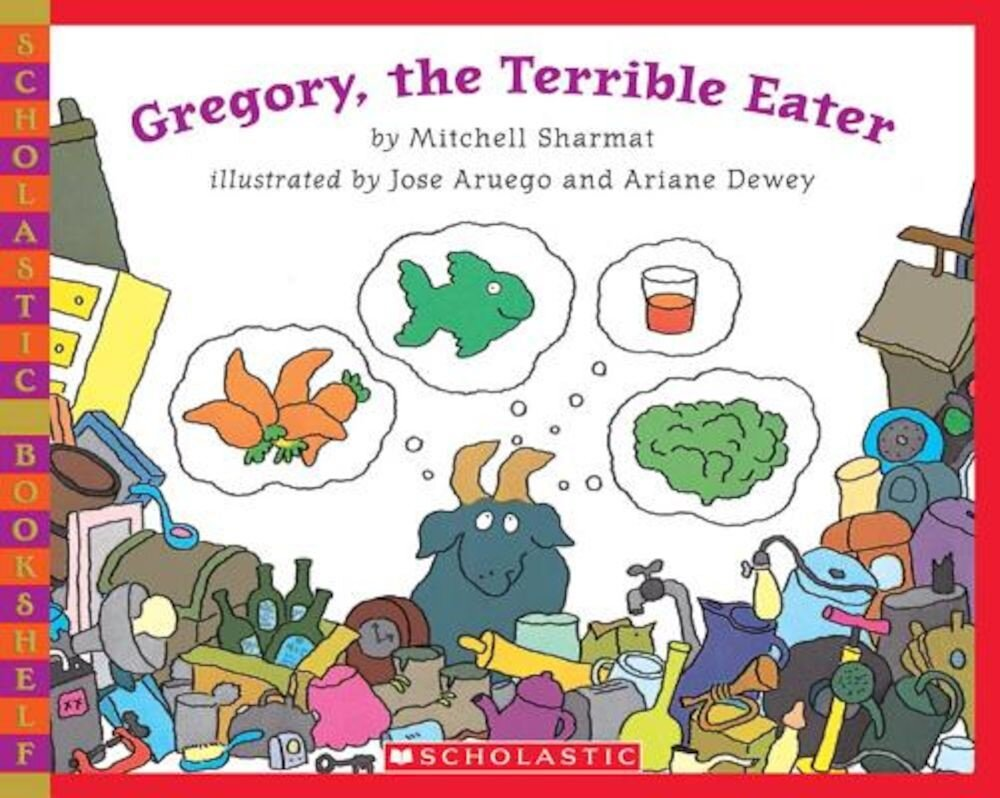 Gregory, the Terrible Eater, Paperback