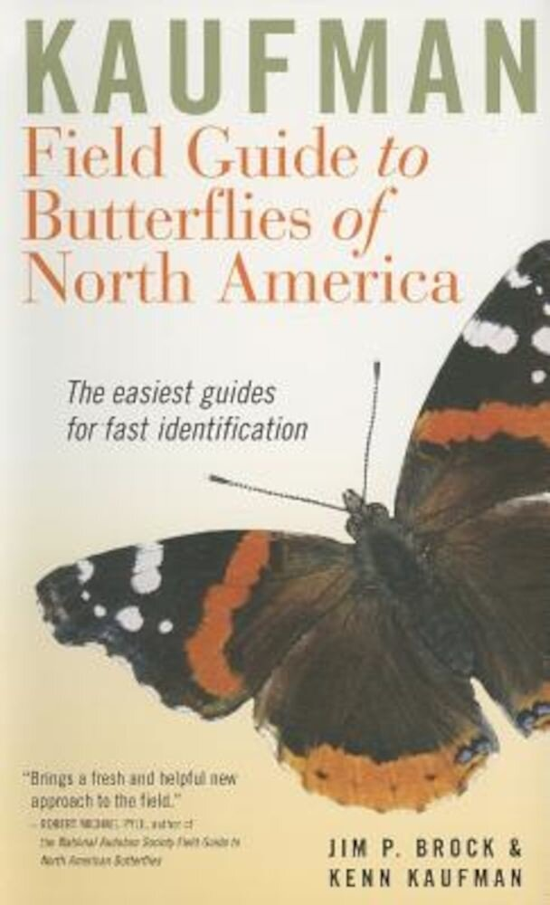 Kaufman Field Guide to Butterflies of North America, Paperback