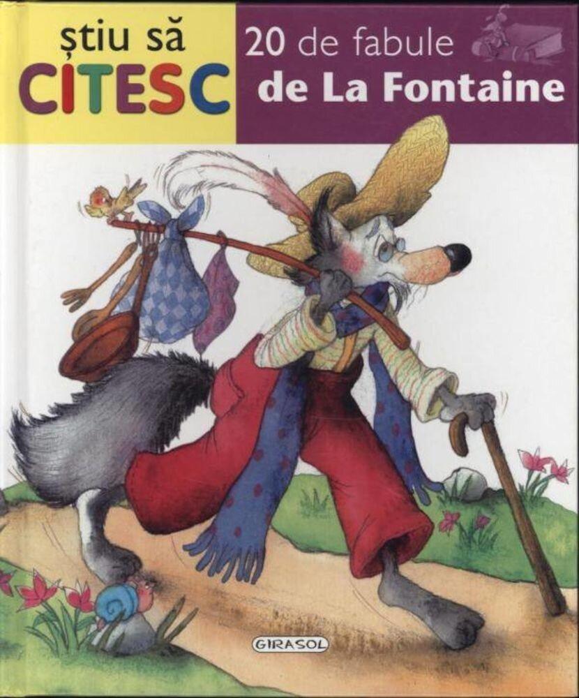 Coperta Carte 20 de fabule de La Fontaine
