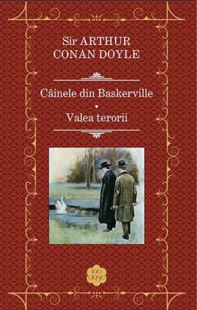 Coperta Carte Cainele din Baskerville. Valea terorii