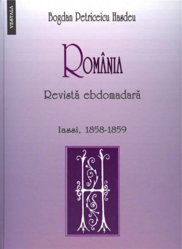 Coperta Carte Romania. Revista ebdomadara