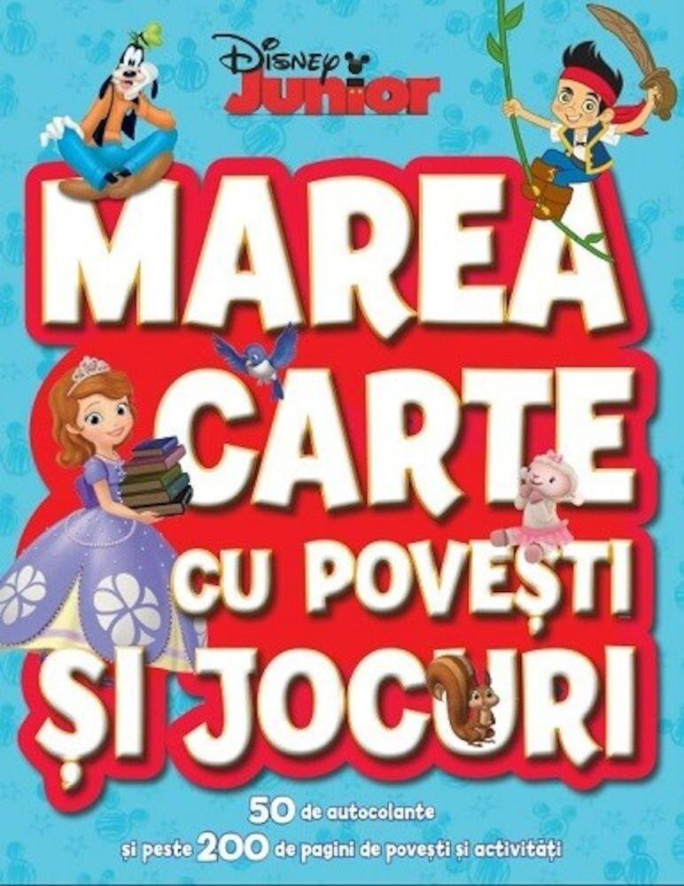 Marea carte cu povesti si jocuri