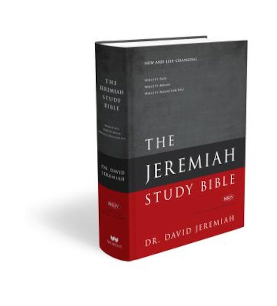 Jeremiah Study Bible-NKJV, Hardcover
