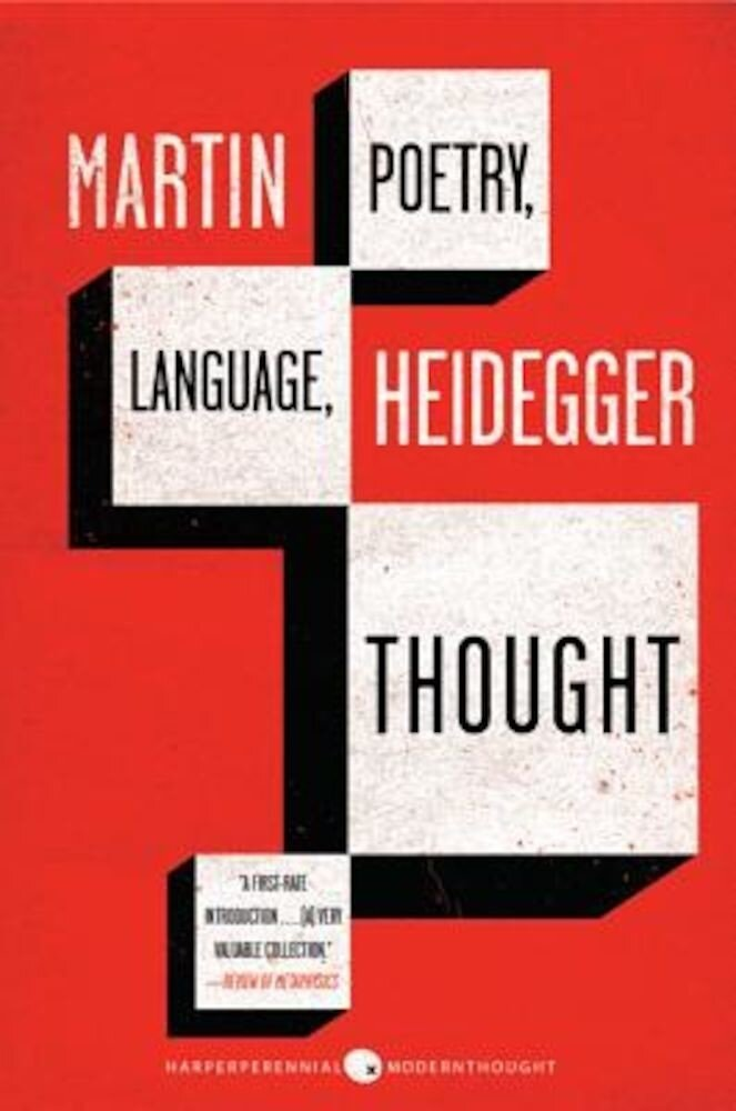 Poetry, Language, Thought, Paperback