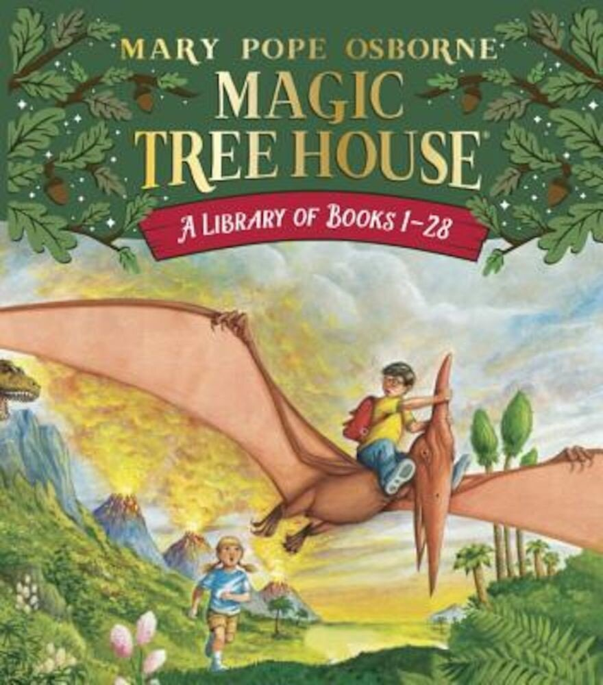 The Magic Tree House Library: Books 1-28, Paperback
