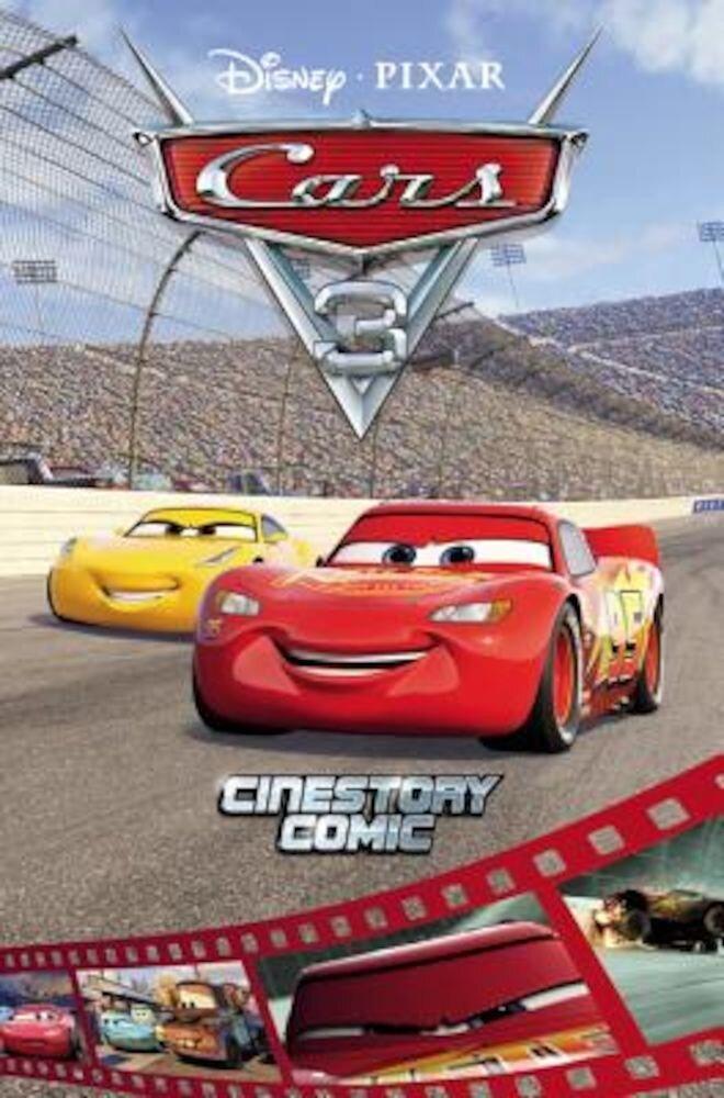 Disney/Pixar Cars 3 Cinestory Comic, Paperback